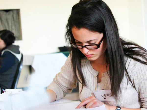 שיעור לימוד ערבית דיוואן